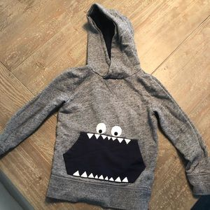 Crewcuts Monster Pocket Hoodie